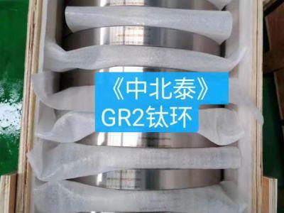 GR2 titanium ring